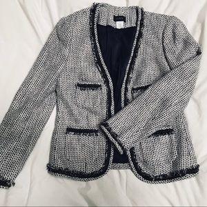 J. Crew Tweed Terrazo Jacket